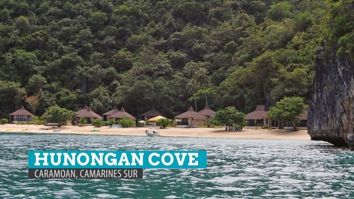 Hunongan Cove in Caramoan: Camarines Sur, Philippines