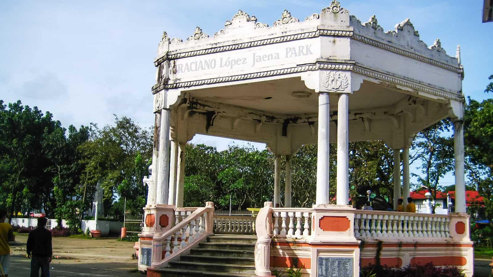Graciano Lopez Jaena Park: Jaro, Iloilo City, Philippines