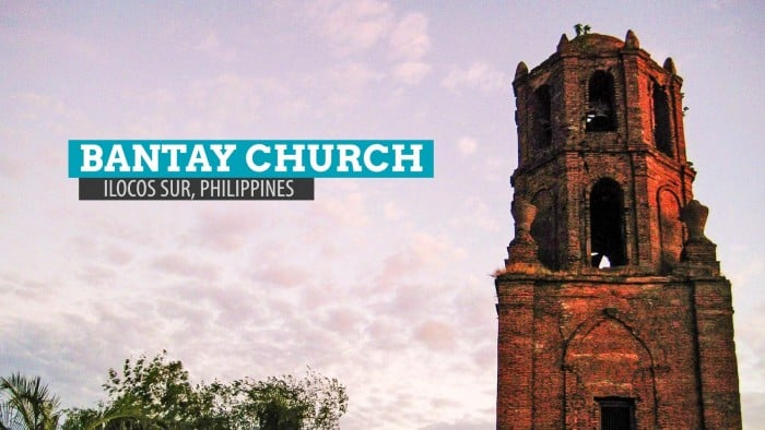 Bantay Church and Belfry: Ilocos Sur, Philippines