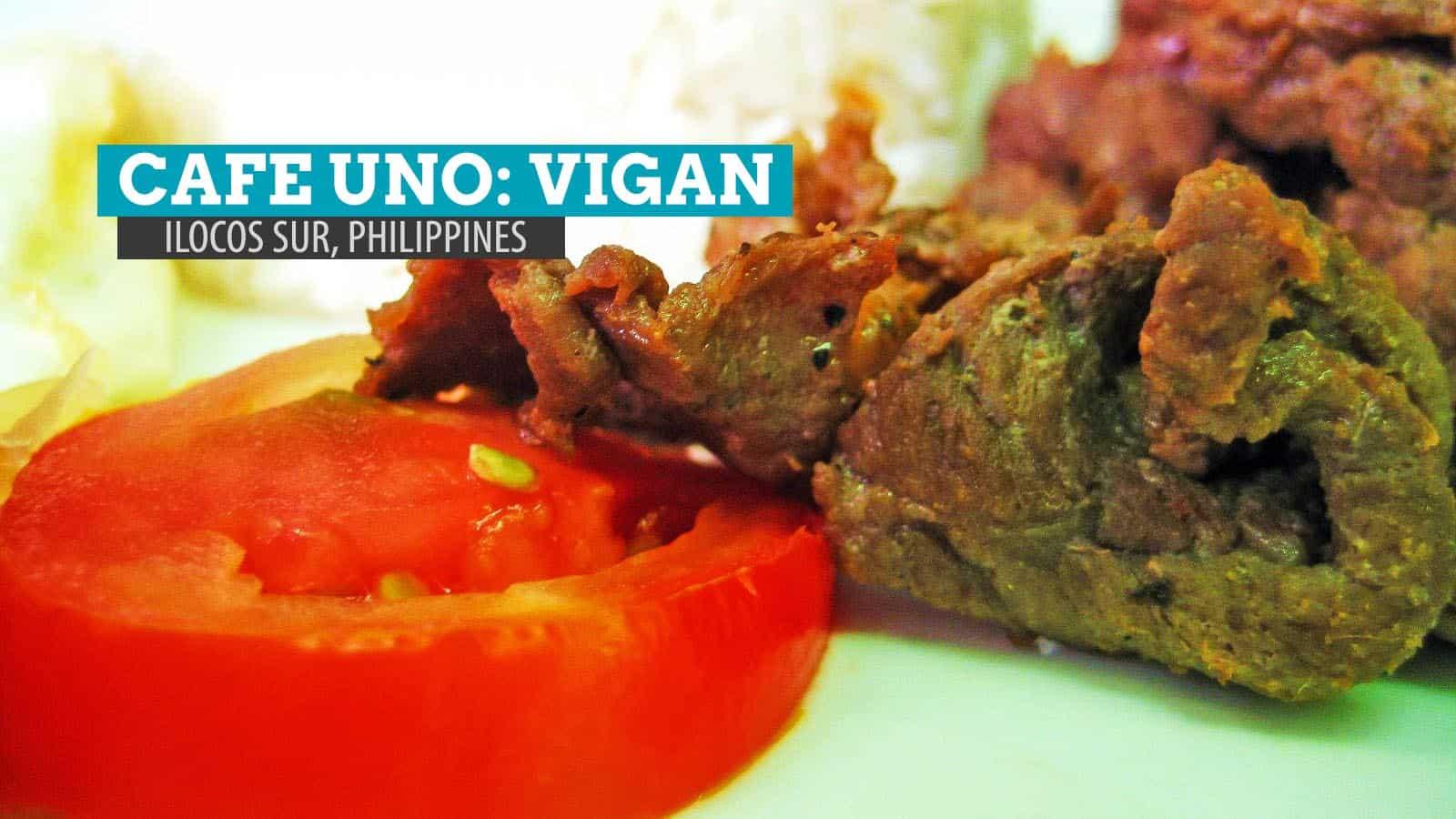 Cafe Uno: Where to Eat in Vigan, Ilocos Sur