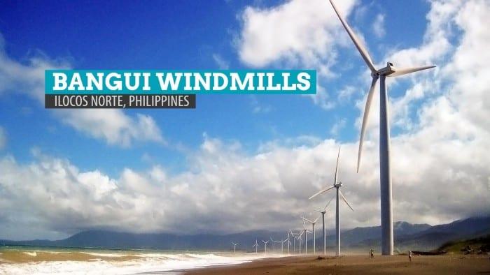 Bangui Windmills: Ilocos Norte, Philippines