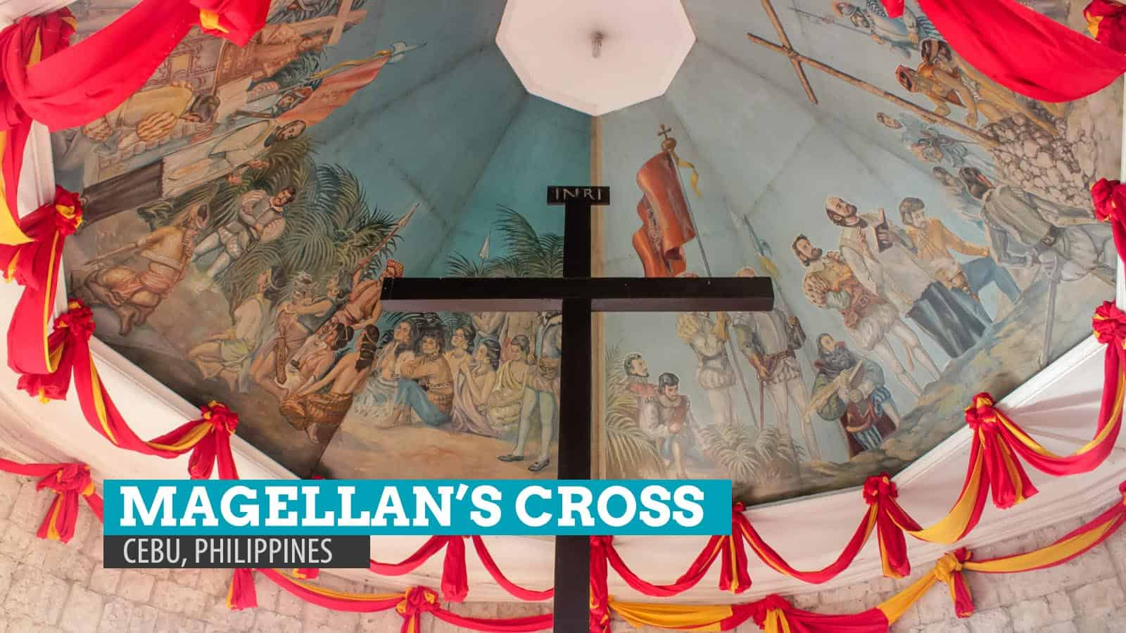Magellan's Cross in Cebu City, Philippines