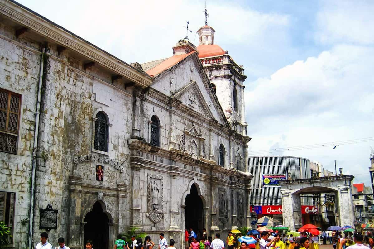 history of the santo nino church in cebu city philippines the