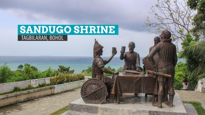 Sandugo Shrine: Blood Compact Monument in Tagbilaran City, Bohol