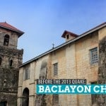 Baclayon Church, Bohol: Before the Quake