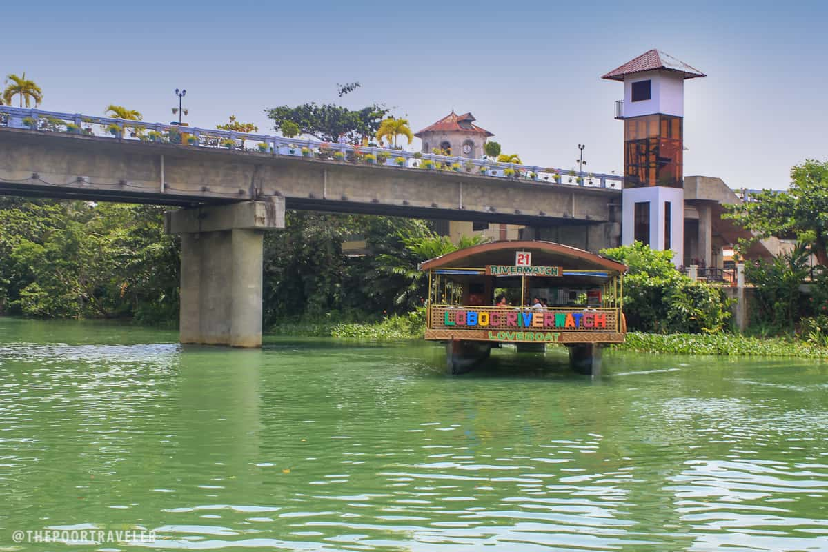 The unfinished Loboc Bridge
