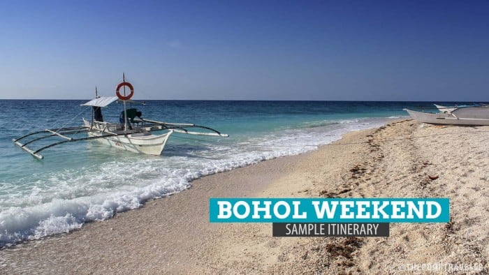A Weekend in Bohol: Sample Itinerary and Budget