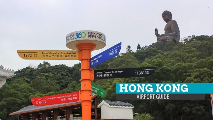 Leaving Manila, Landing in Hong Kong: Airport Guide