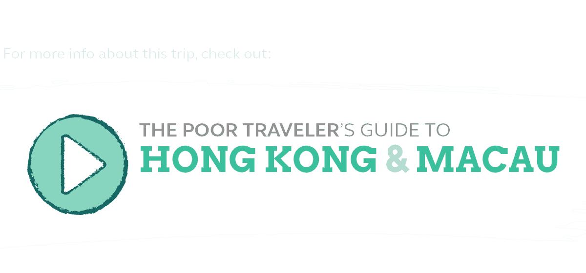 budget guide hong kong macau