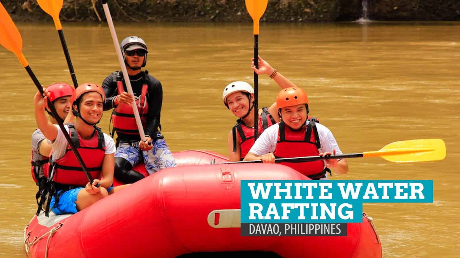 White Water Rafting in Davao, Philippines