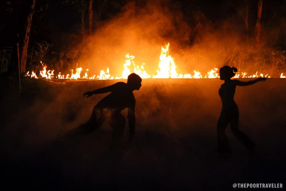 Tribu K' MIndanawan Fire Show