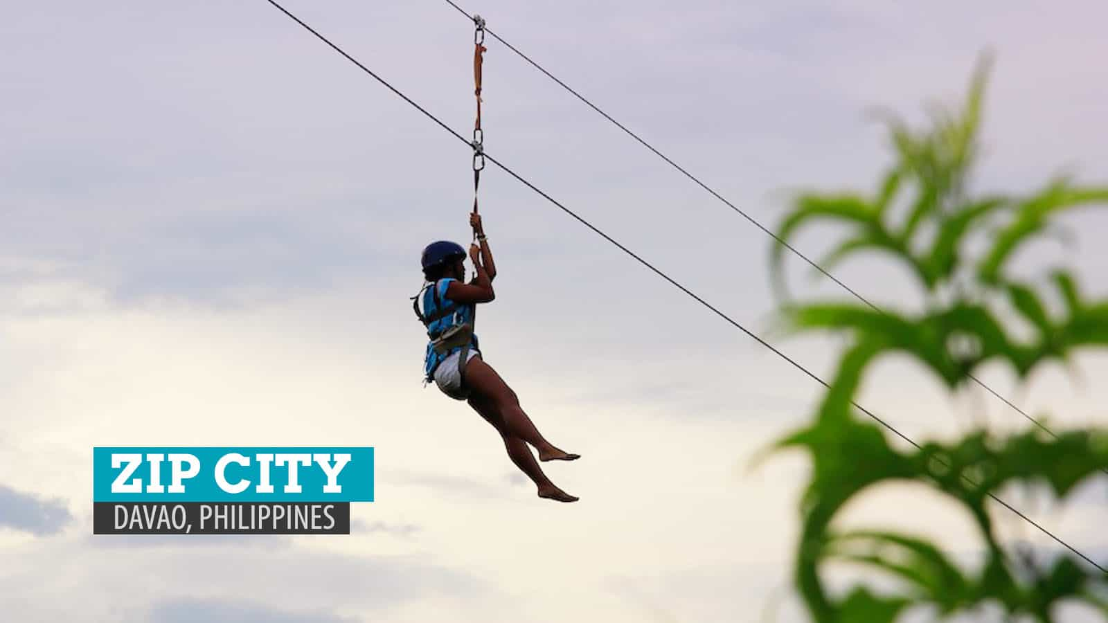 ZIP CITY: First Time on the Line in Davao City, Philippines