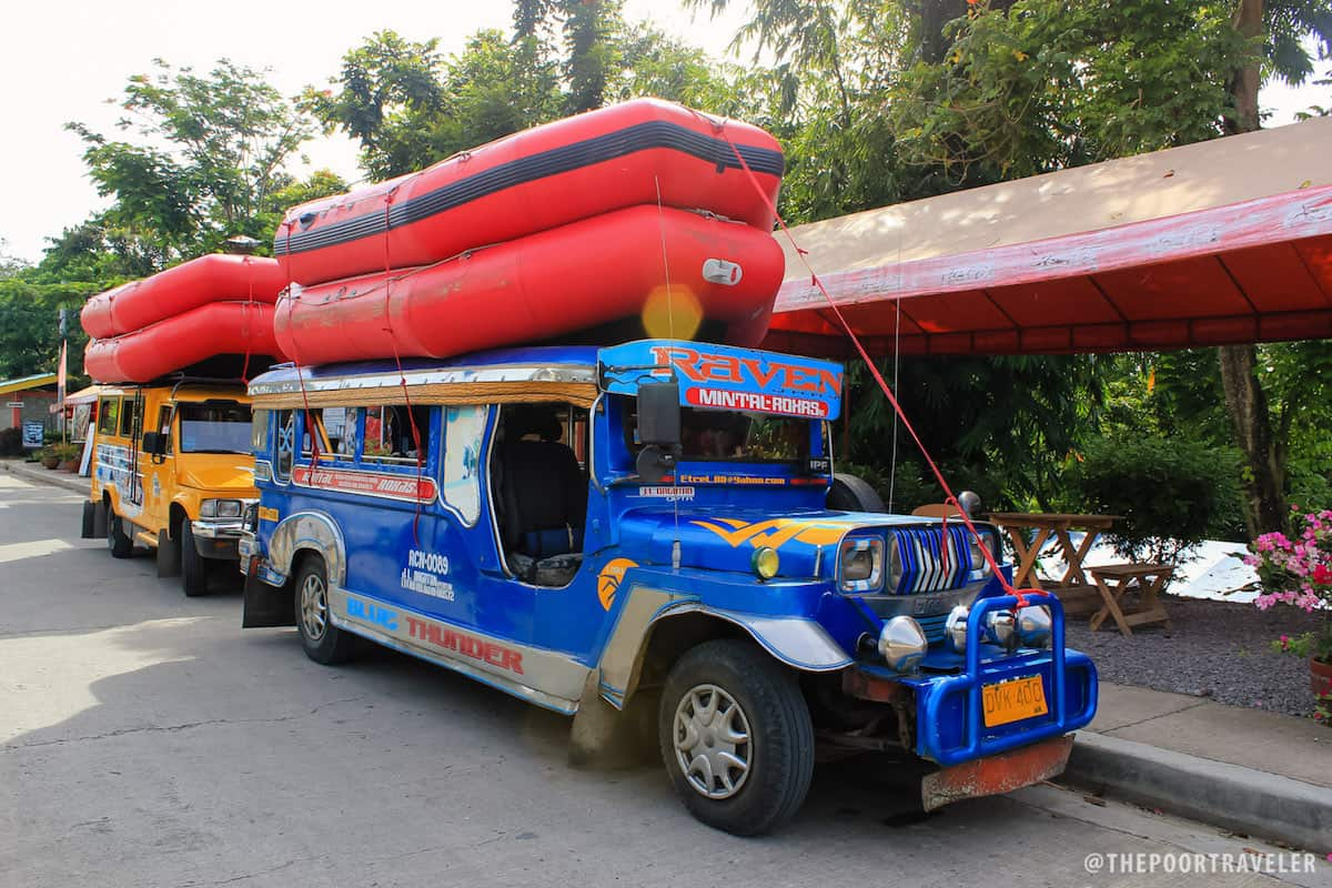 The jeepney that took us to Davao River.