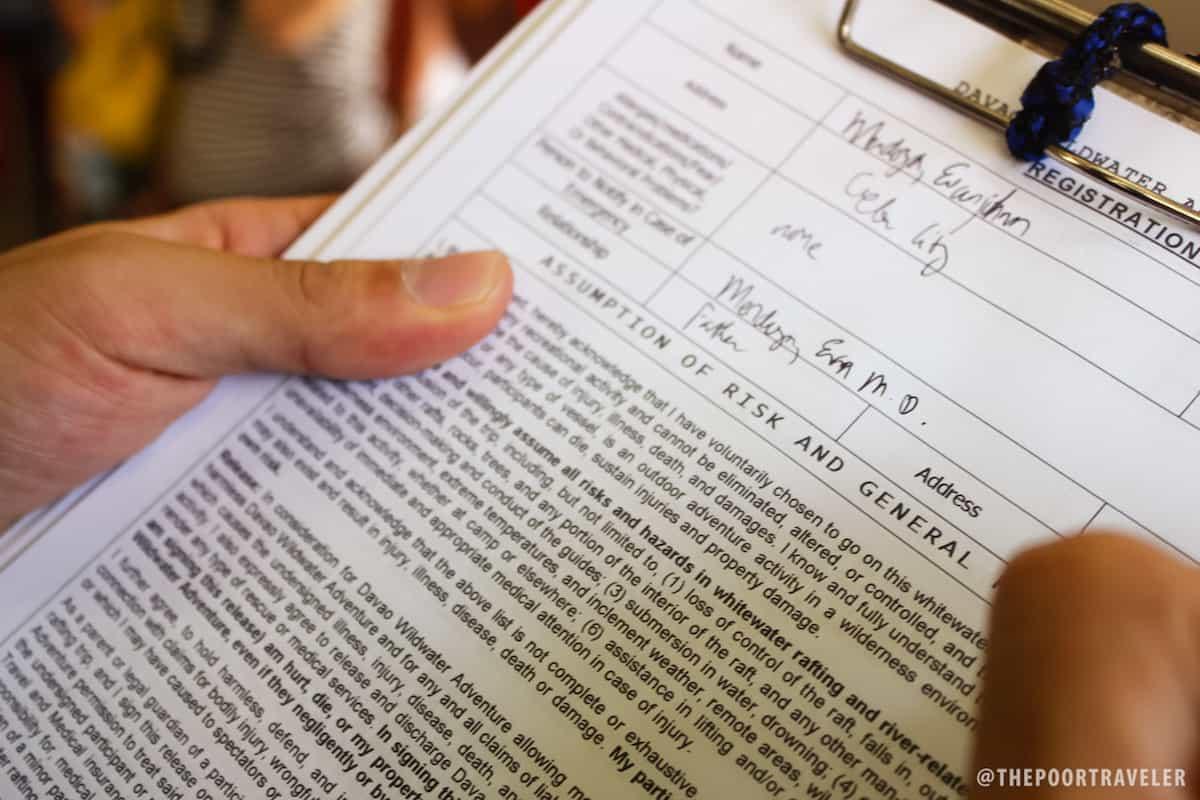 Evanjohnn's waiver (Photoblogger, FocalGlass.com)