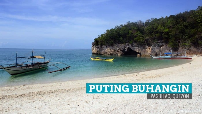 Puting Buhangin Beach and Kuwebang Lampas: Pagbilao, Quezon