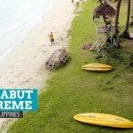 Marabut Extreme Experience: Marabut Marine Park Beach Resort, Samar