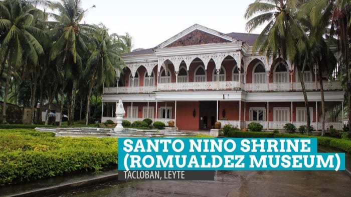 Santo Nino Shrine in Tacloban, Leyte: Before Yolanda