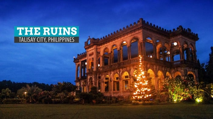 The Ruins in Talisay City: Negros Occidental, Philippines