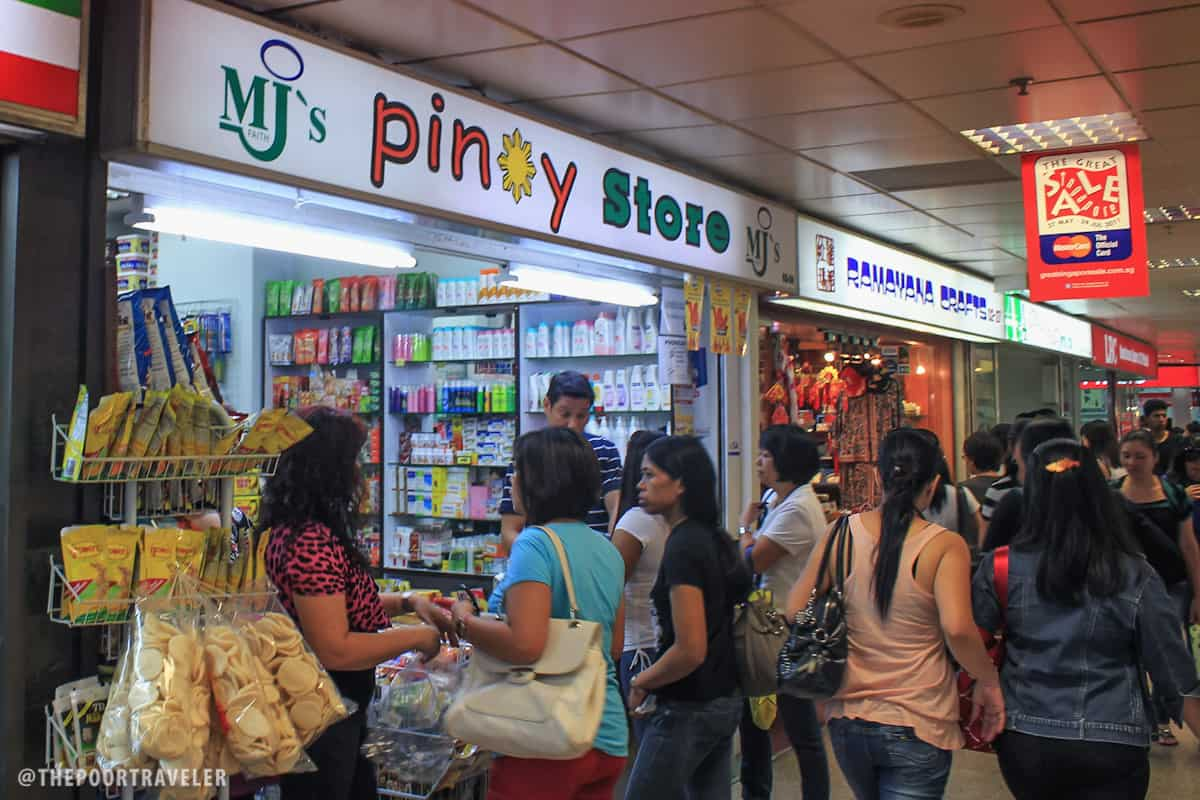 Pinoy Central: Lucky Plaza