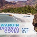 Anawangin & Nagsasa Coves: Budget Travel Guide 2016