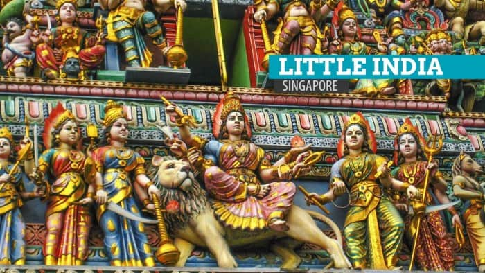 Little India By Night, Singapore