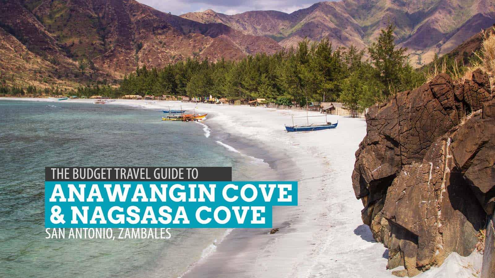 Nagsasa Anawangin Coves