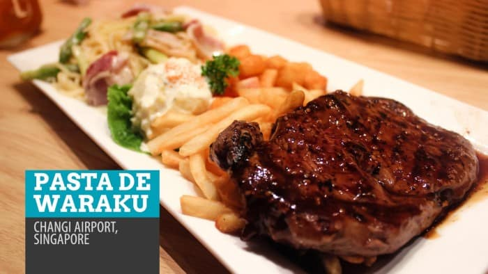 Pasta de Waraku: Where to Eat at Changi Airport, Singapore (Splurge Option)