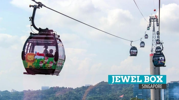 JEWEL BOX SINGAPORE: Cable Car and the Iconic Restroom (LOL)