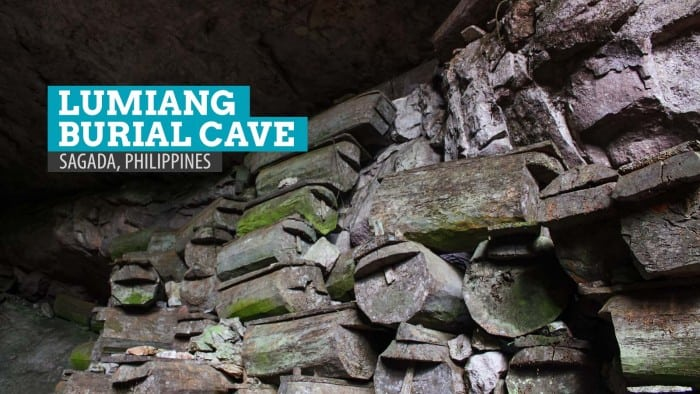 LUMIANG BURIAL CAVE in Sagada, Philippines
