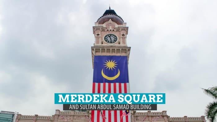 The Merdeka Square and the Sultan Abdul Samad Building, Kuala Lumpur, Malaysia