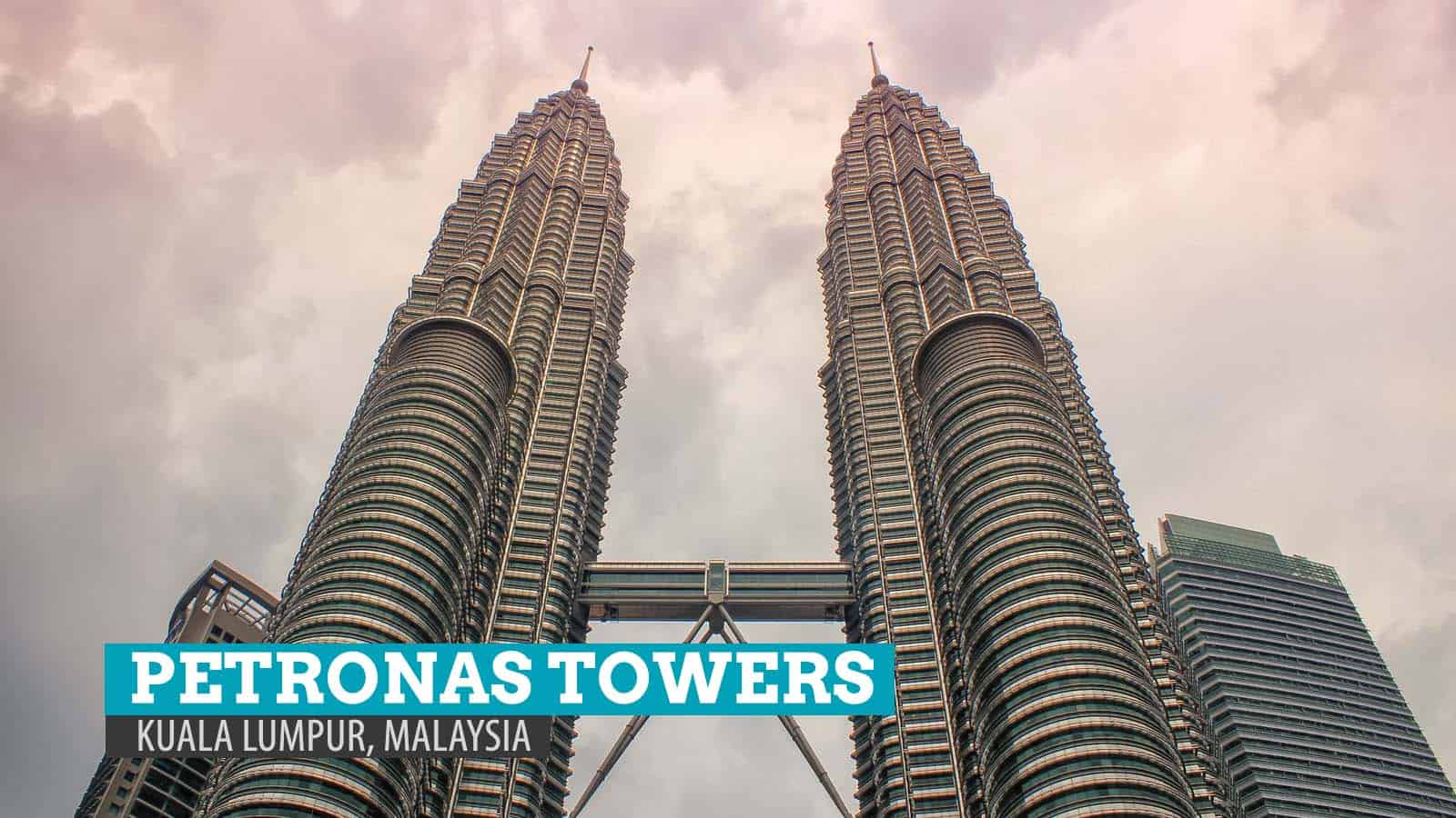 Petronas Twin Towers and Suria KLCC: Kuala Lumpur, Malaysia