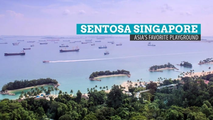 SENTOSA SINGAPORE: Becoming a Kid Again at Asia's Favorite Playground