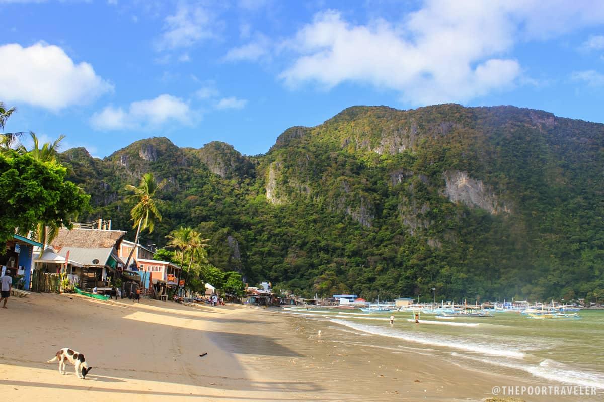 El Nido Poblacion Beach