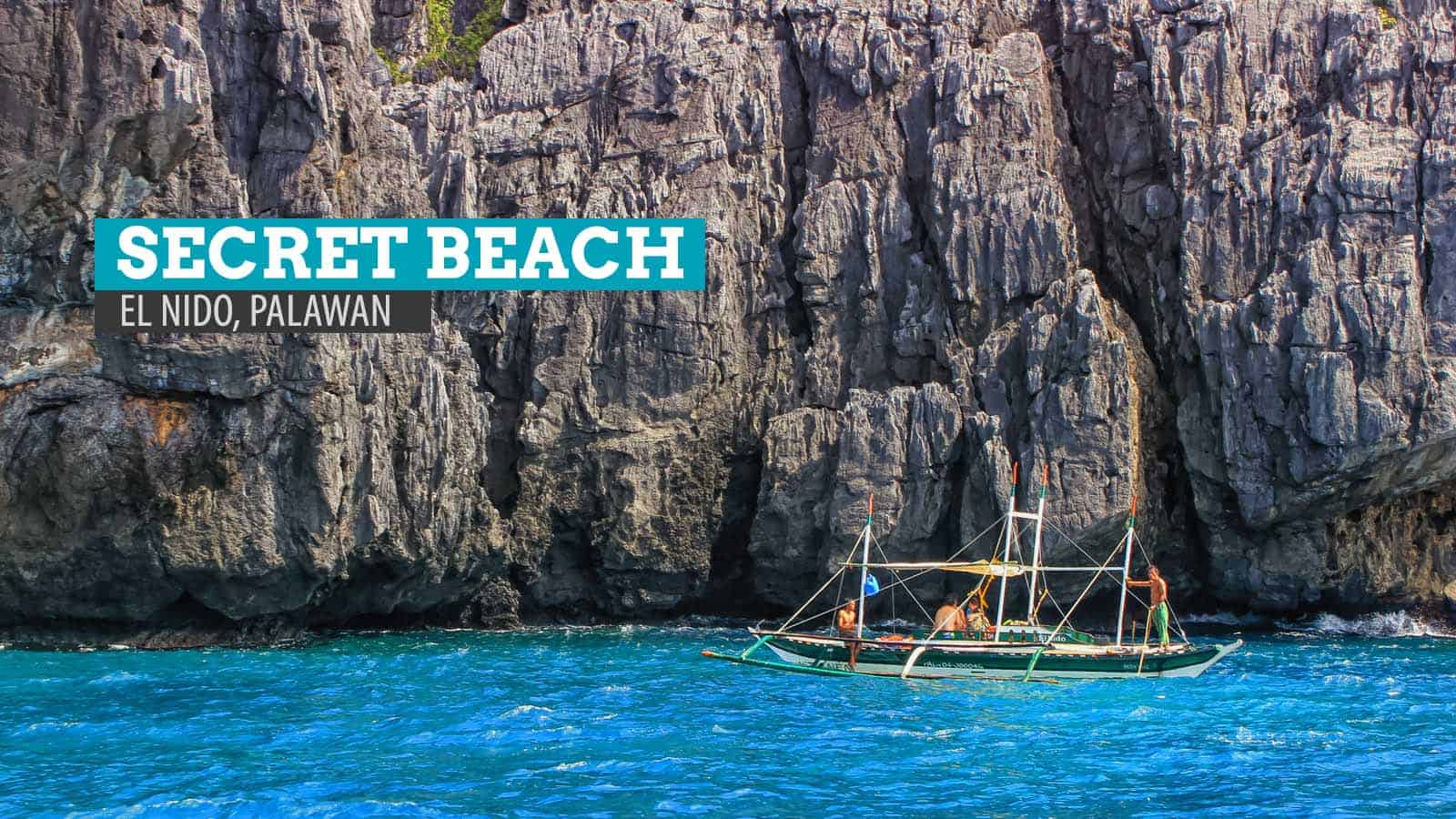 The Secret Beach of Matinloc Island: El Nido, Palawan, Philippines