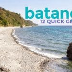 12 Tourist Spots in Batangas, Philippines