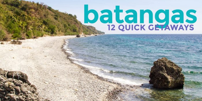 12 BATANGAS TOURIST SPOTS You Can Easily Visit from Manila