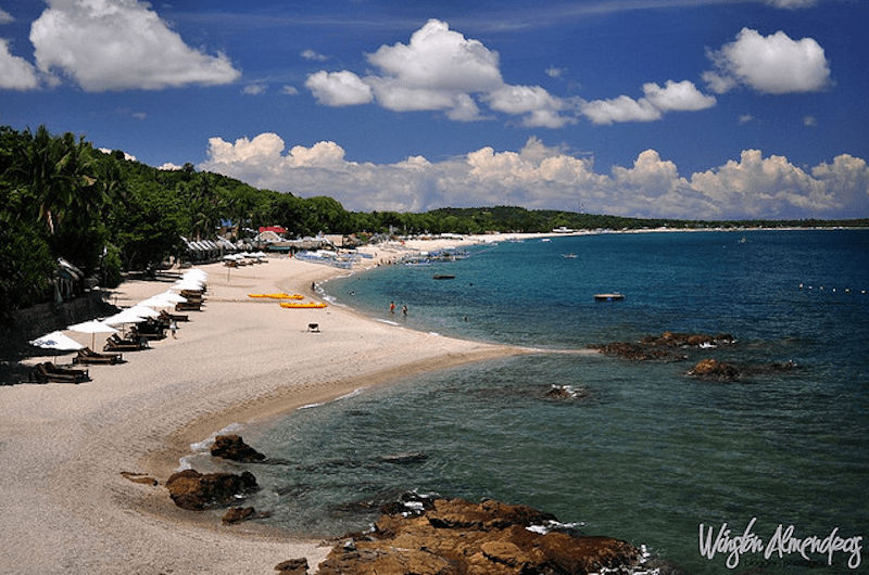 Laiya in San Juan, Batangas. Photo by Winston Almendras