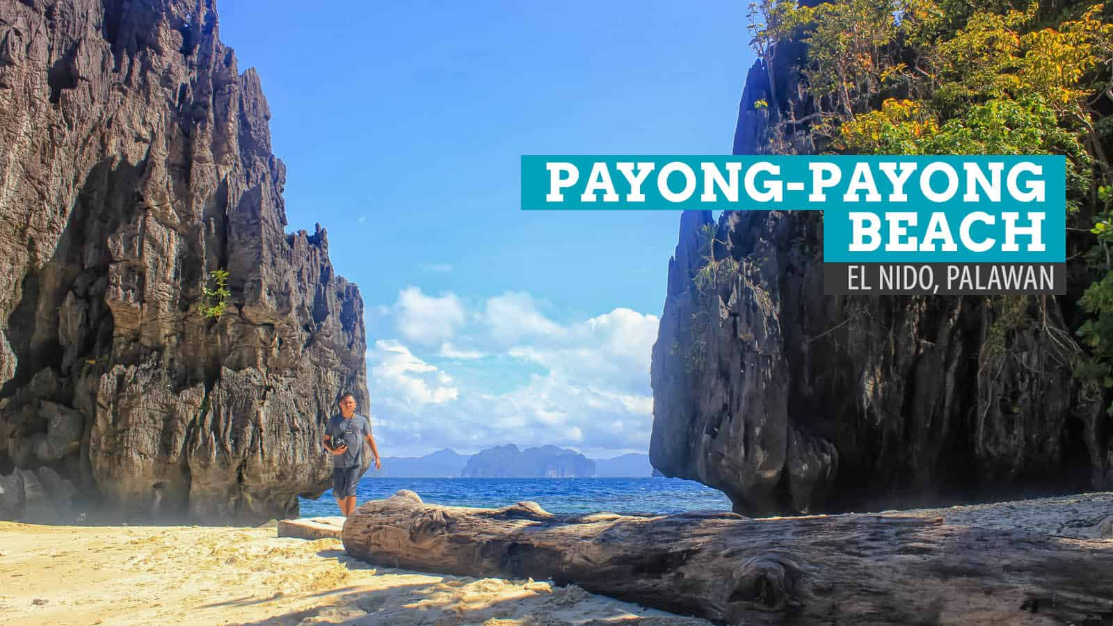 El Nido, Palawan: Making Friends at Payong-Payong Beach