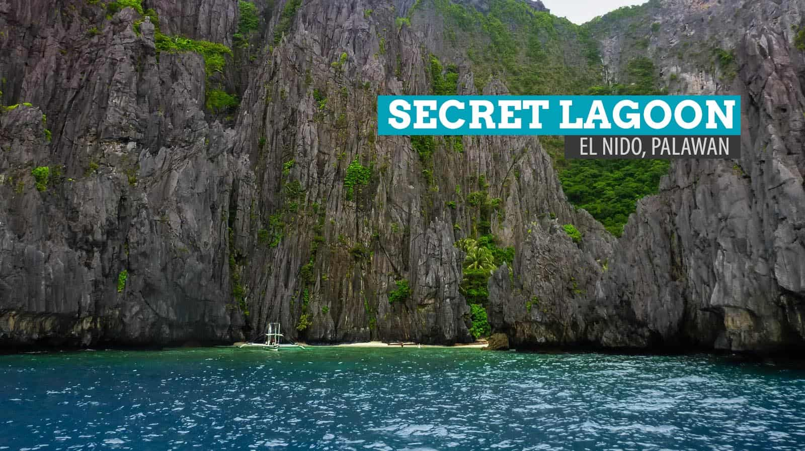 The Secret Lagoon Of Miniloc Island El Nido Palawan