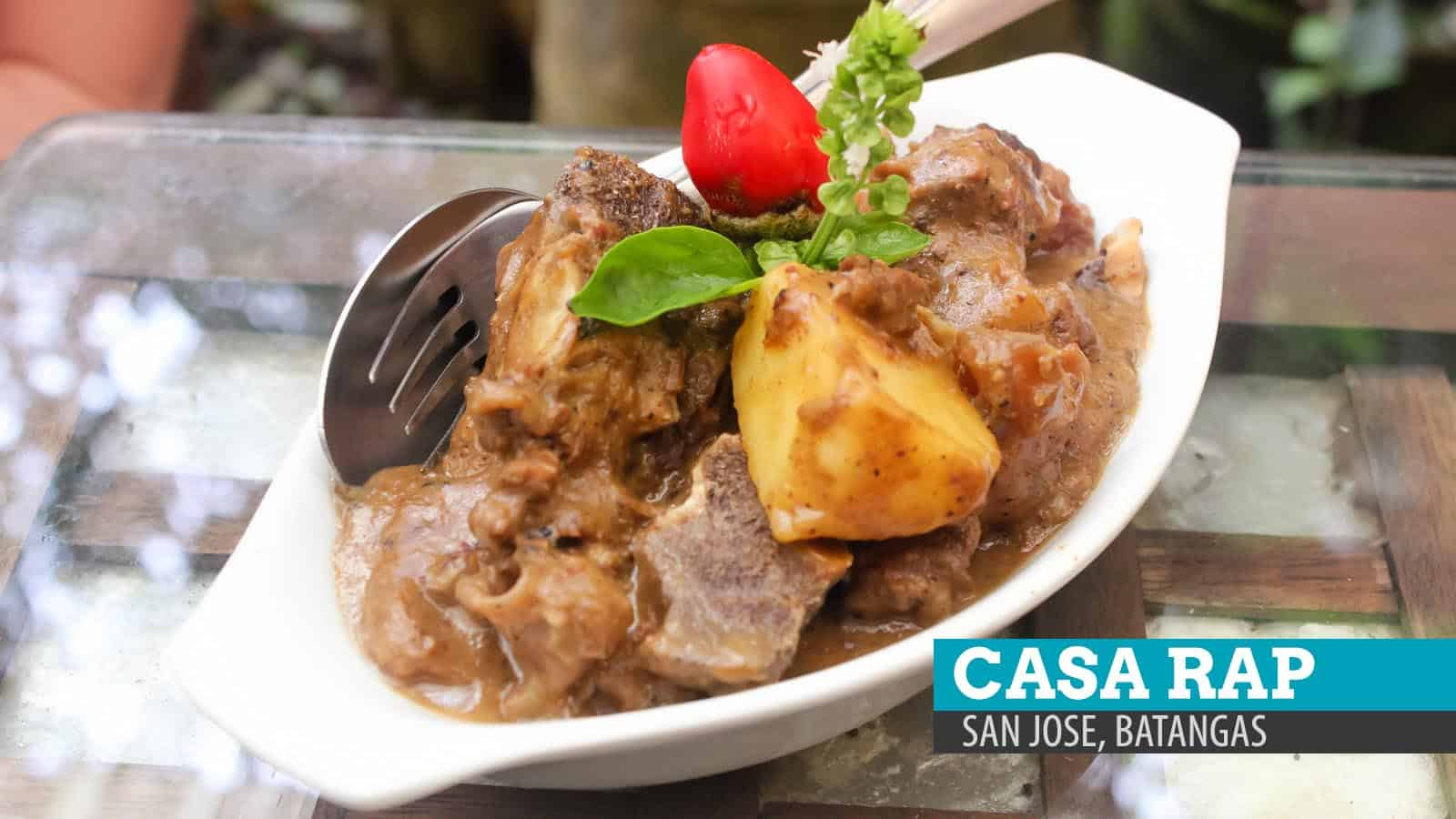 Casa Rap: The Perks of Slow Cooking in Batangas, Philippines