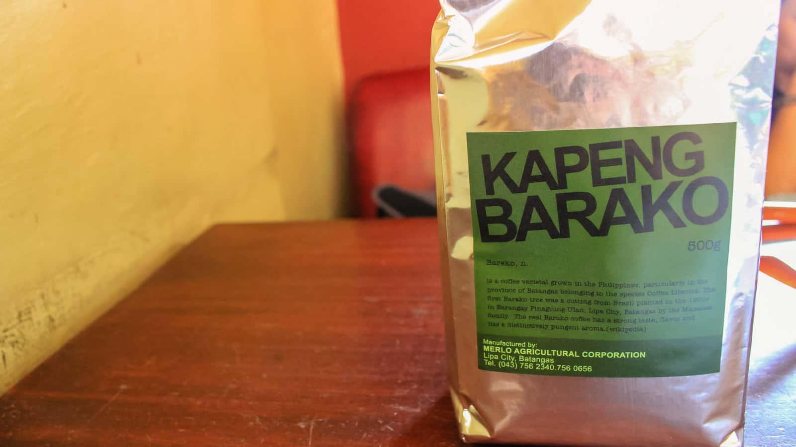 CAFE DE LIPA: Reviving Kapeng Barako Glory in Batangas, Philippines