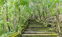 Walkway to Old Volcano (Mt. Vulcan)