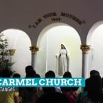 Mt. Carmel Church and the Rose Petal Shower in Lipa City, Batangas