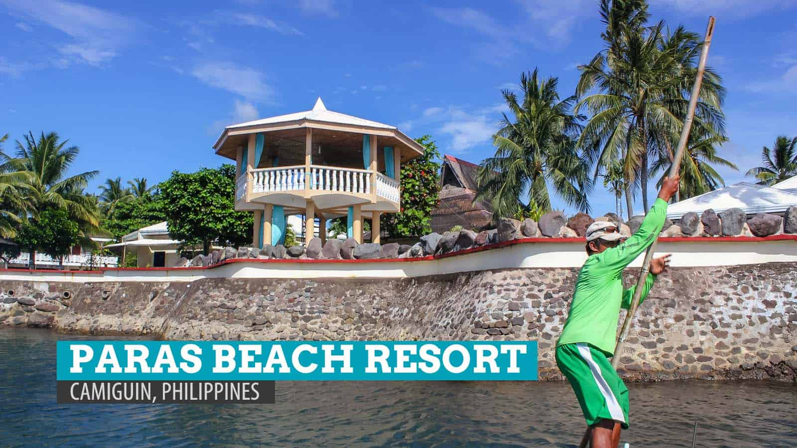 PARAS BEACH RESORT in Camiguin, Philippines