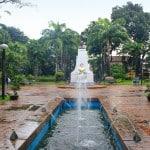 Plaza Mabini, Batangas City: Dusk and Dawn