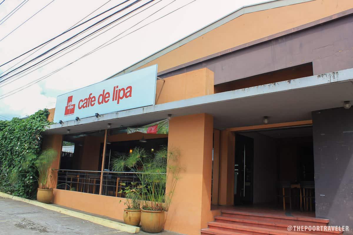 Cafe De Lipa History