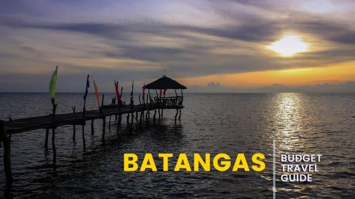 BATANGAS: Budget Travel Guide