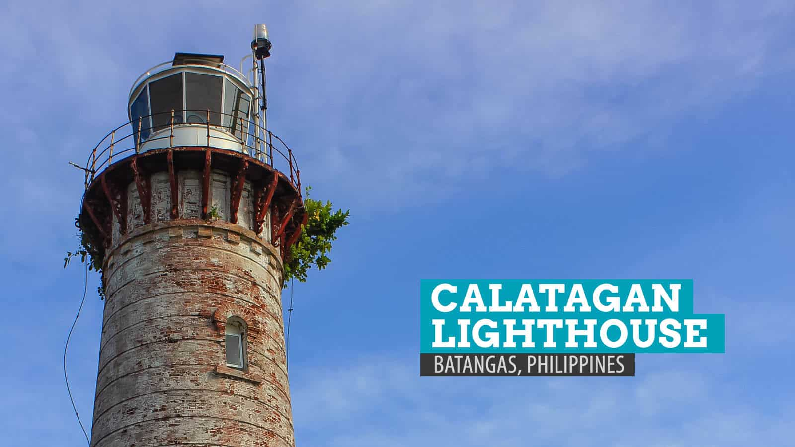 CALATAGAN LIGHTHOUSE: The Busy Beacon of Batangas, Philippines