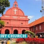 CHRIST CHURCH MELAKA IN MALAYSIA