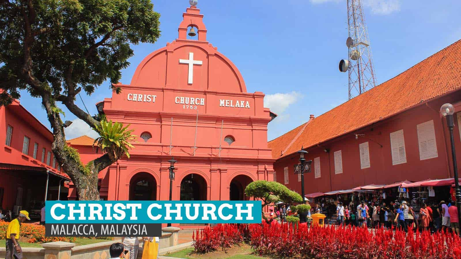 Image result for christ church melaka